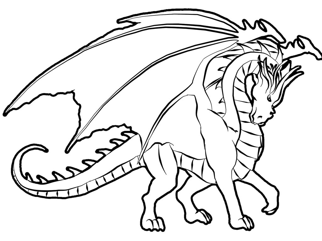 Coloring Pages Dragons Animated Images Gifs Pictures