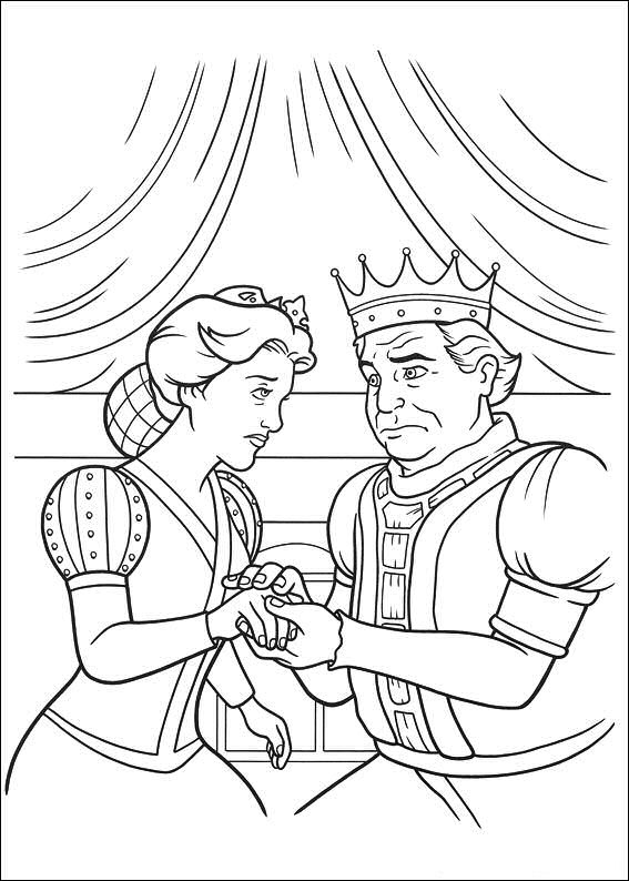 Coloring Pages Shrek Animated Images Gifs Pictures