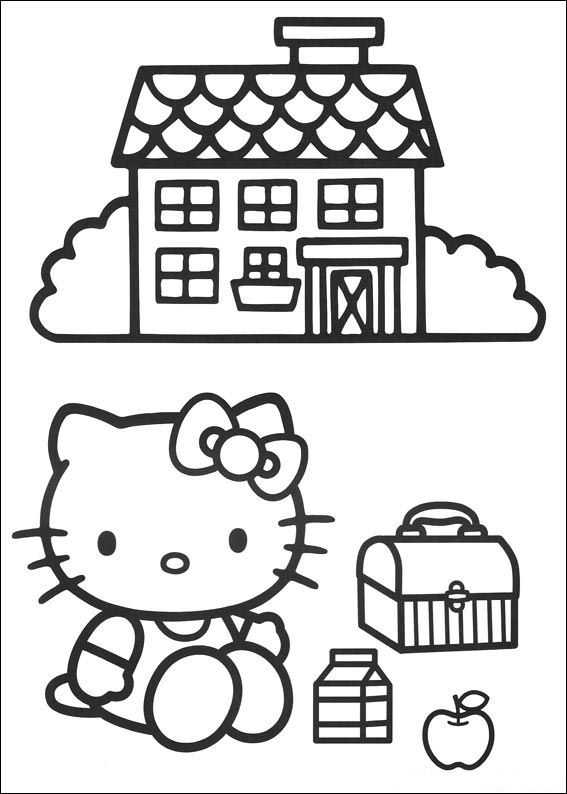 Animated Coloring Pages Hello Kitty Image 0017