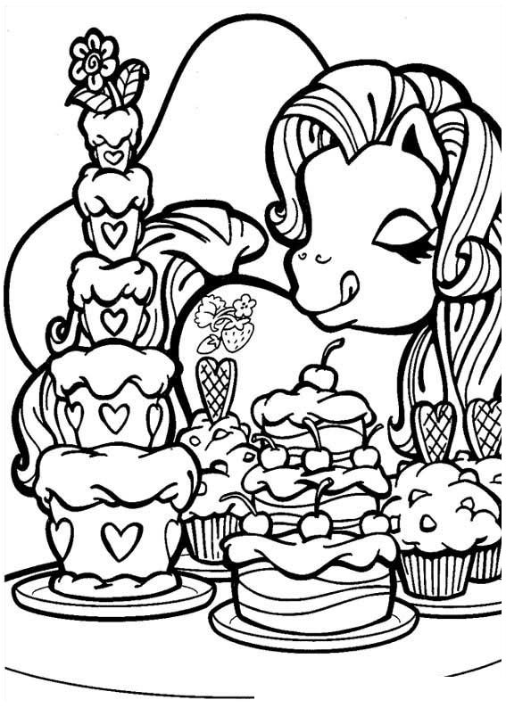 Animated coloring pages my little pony image 0017